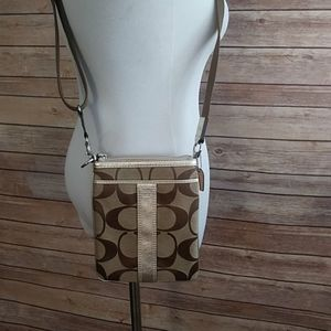 NWOT Coach Crossbody With Adjustable Strap